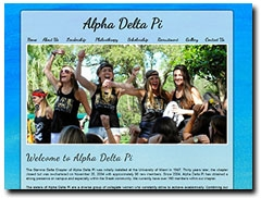 Alpha Delta Pi at the University of Miami