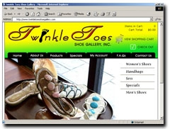 Twinkle Toes Shoe Gallery, Inc