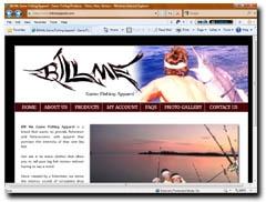 Bill Me Game Fishing Apparel