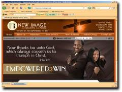 New Image Christian Center, Pastor David Eggleston