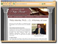 Attorney at Law - Philip Monte, Family, License, Civil, Criminal and Juvenile Defense