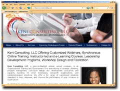 Keni Consulting, LLC - Leadership Development, Workshop Design and Facilitation
