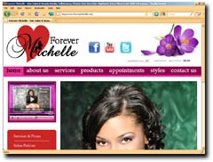 Forever Michelle - Hair Salon & Beauty Studio, Tallahassee, Florida